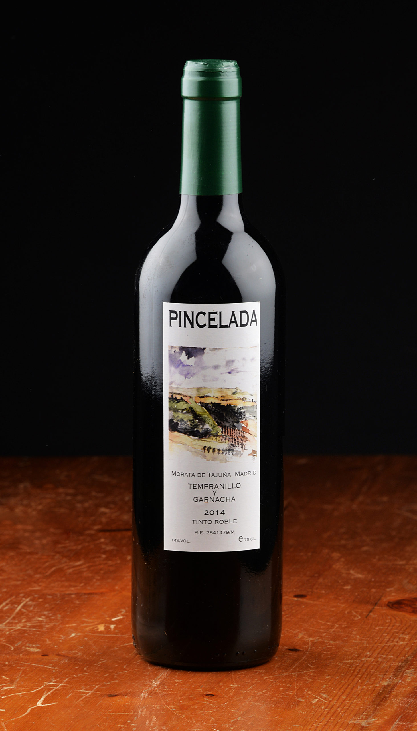 Pincelada, tempranillo y garnacha 2014